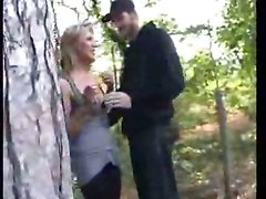 French Blonde Gangbanged By Unknowned Men