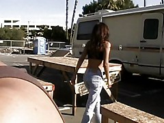 Great Slut Fucked In The Trailer