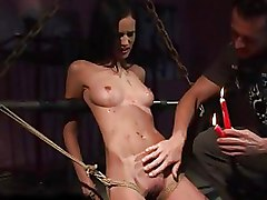 Cute Teen Being Painfully Punished