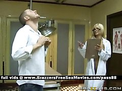 Busty Doctor Gets Horny