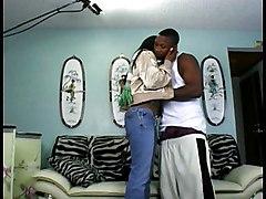Hot Ebony Body Gets Spermed