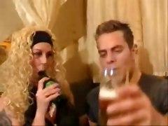German Blond First Fist