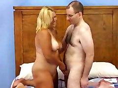 Chubby Blonde Milf