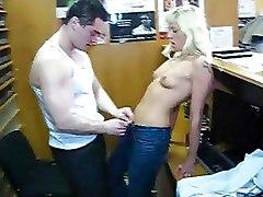 Virgin Blonde Teen Gets Fucked By Hot Guy
