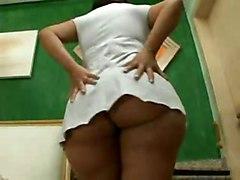 Big Booty Brazilian Queen Darlene Amaro Gets Slammed Hard
