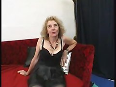 French Old Agnes  Gangbanged By Few Men