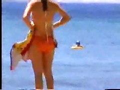 Turkish Couple Passionate On Beach & Hotel Room