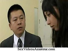 Yuka Osawa Horny Asian Teacher Enjoys Getting A Fucking In T