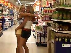 Eva E Marta In Public