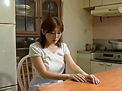 Housekeeper Pleasures Herself
