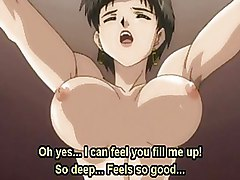Sensual Anime Babe Getting A Huge Cock