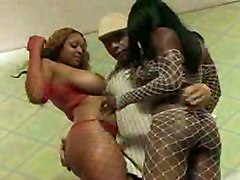 Two Black Girls Love Cock