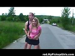 Rollergirl Banged At Junksite