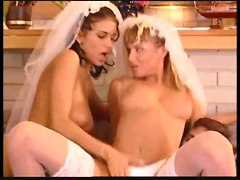 Here Cums The Two Brides