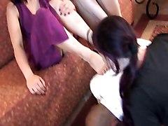 Slave And Mistress 5, Lesbian Foot-worship