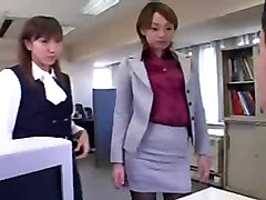 Cfnm - Femdom - Humiliation - Japanese Girls In Office