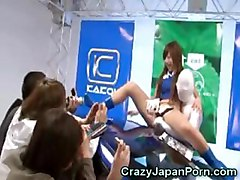 Crazy Auto Salon Girls