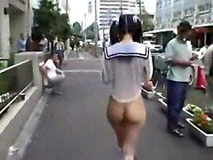 Shameless Japanese Girl In Public Part 2
