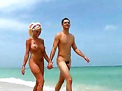 Babes In Nude Beaches Get Massaged Explicitly
