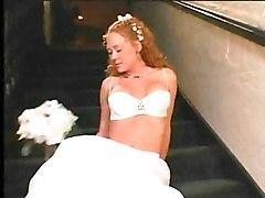 Horny Redhead Bride Audrey Gets Fucked Hard