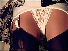 White Lace And Girdle