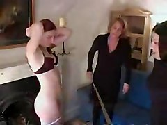 Strict Mother Spanking Daughter D10