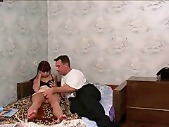 Dad Shows His Daughter&039;s Friend How To Fuck !