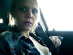 Kinky Slag Squirts In My Car