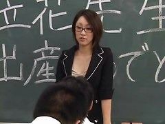 Lactating Japanese Teacher Spits On Student&039;s Face