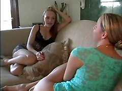 Delilah And Cytherea Playing With Cum