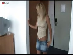 Hot Chick Tereza With A Toy