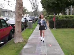 Pounded In Front Of Fraternity