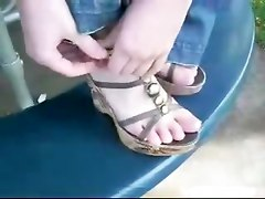 Bare Feet Toe