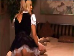 Smokin Hot Maid Carmen Luvana Intrigued By Cock!
