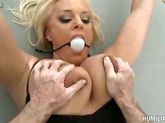 Blonde Milf Agreed For Bdsm Hard Sex