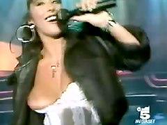 Concert Nipple Slip Video