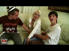 Chick Gets Drunk And The Guys Bang Her