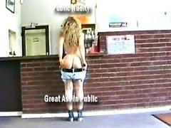Public Nudity Great Ass & Legs