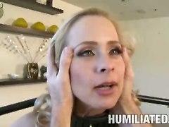 Bdsm Hard Sex For Blonde Whore