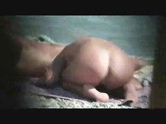 Woman Jack Off  In Nudist Beach