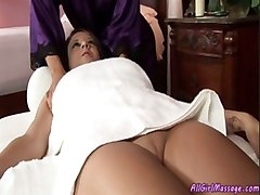 Shy Girl Gets Her First Massage Ever!