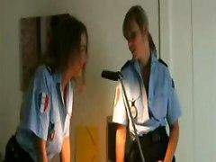 Horny Policewomen Get Wild In Locker Room