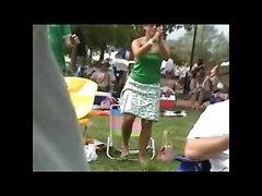 Upskirt Sitting 2