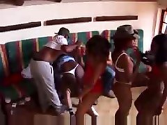 African Amateur Girl Group Sex Part 2