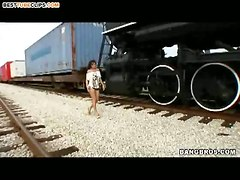 Train Whore Looks For A Fuck!