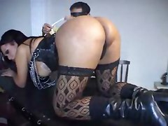 This Master Is Taming His Tranny Slaves
