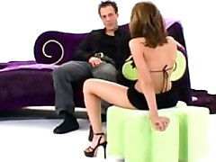 Beautiful Babe In Lingerie Masturbating   Ass Fucking