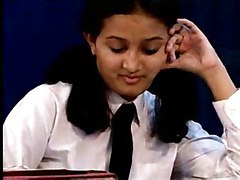 Busty Young Schoolgirl Sanjana At Exploited Indian Girls