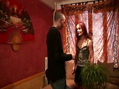 French Red Head Likes It Anally