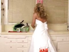 Sexy Bride In Wedding Dress Gets Fucked Very Hard